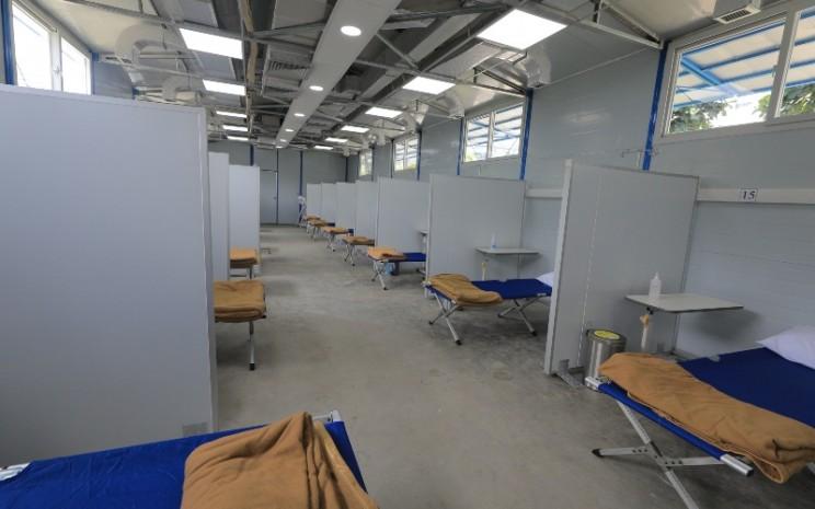 Fasilitas ruang rawat tambahan di RS Siloam Kebun Jeruk. - Meikarta