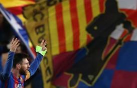 Top Skor La Liga Spanyol, Lionel Messi 4 Gol Tinggalkan Luis Suarez