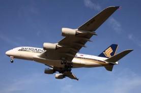 Penumpang Positif Covid-19, Singapore Airlines Dilarang…