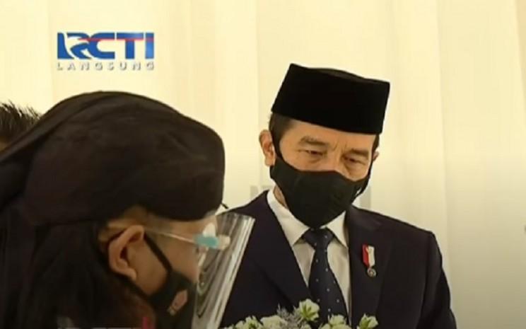 Presiden Joko Widodo atau Jokowi jadi saksi pernikahan Atta Halilintar dan Aurel Hermansyah - Istimewa