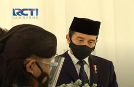 Video Jokowi-Prabowo Kompak Jadi Saksi Nikah Atta-Aurel