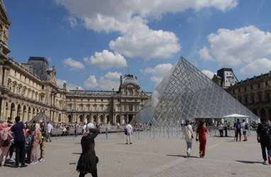 Prancis Pangkas Proyeksi Pertumbuhan Ekonomi Usai Terapkan Lockdown Nasional
