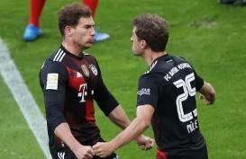 Hasil Lengkap Bundesliga : Tanpa Lewandowski, Munchen Gasak Leipzig