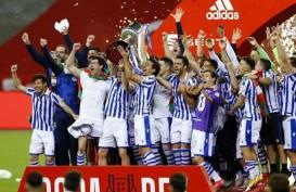 Gol Penalti Bawa Real Sociedad Juara Copa del Rey, Taklukkan Bilbao