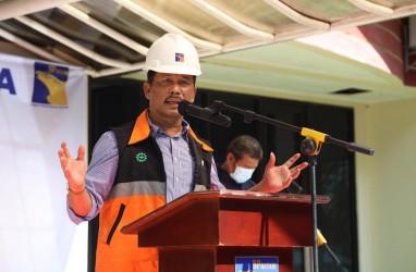 Kepala BP Batam Melakukan Peletakan Batu Pertama Pembangunan Taman Rusa, Taman Kolam dan Jalur Sepeda Sekupang