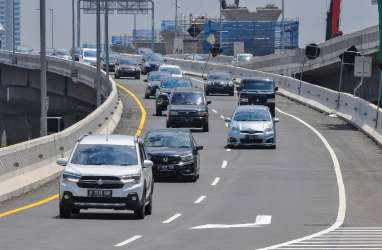 Arus Balik Libur Paskah, Angkutan Barang di Jalan Tol Dibatasi Hingga Besok Pagi