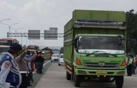 Puncak Arus Balik Libur Paskah, Truk Besar 'Dipaksa' Keluar dari Tol Cipali