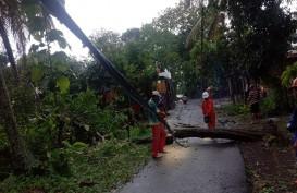 Hujan dan Angin Kencang Terjang DIY, 3 Wilayah Terdampak
