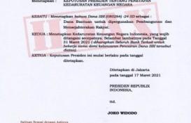 CEK FAKTA: Jokowi Terbitkan Keppres Keuangan Negara Sedang Darurat, Betulkah?