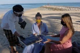 Vaksinasi di Zona Hijau Pariwisata Sanur Bali Lampaui…