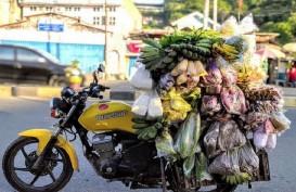 Bukan Touring, Sepeda Motor Sport di Papua untuk Jual Sayur Keliling