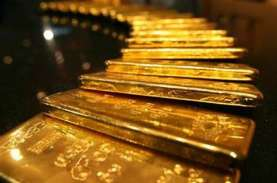 Tarik-menarik Sentimen, Harga Emas Melayang di Kisaran…