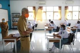 Hari Pertama PTM, Ini Temuan Ganjar Saat Sidak 2 Sekolah…