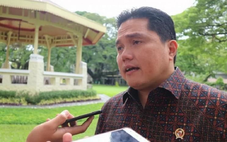 Menteri BUMN Erick Thohir. - Antara