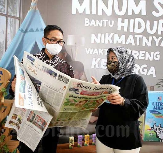 Jelang Puasa dan Lebaran, PT Ultrajaya Milk Industry & Trading Company Tbk. Genjot Produksi