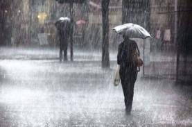 Cuaca Jakarta 6 April, Pagi hingga Siang Hari Hujan…