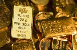 Harga Emas Meningkat Terkerek Pelemahan Dolar AS
