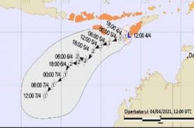 Nusa Tenggara Timur Dihantam Siklon Seroja, Begini…