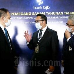 Bank BJB Bagikan Dividen Senilai Rp941,97 Miliar