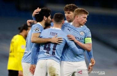 Meski Kalah 1-2 dari Man City, Peluang Dortmund Tetap Terbuka