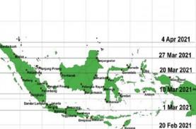 BMKG: Sejumlah Provinsi Berpotensi Hujan Lebat dengan…