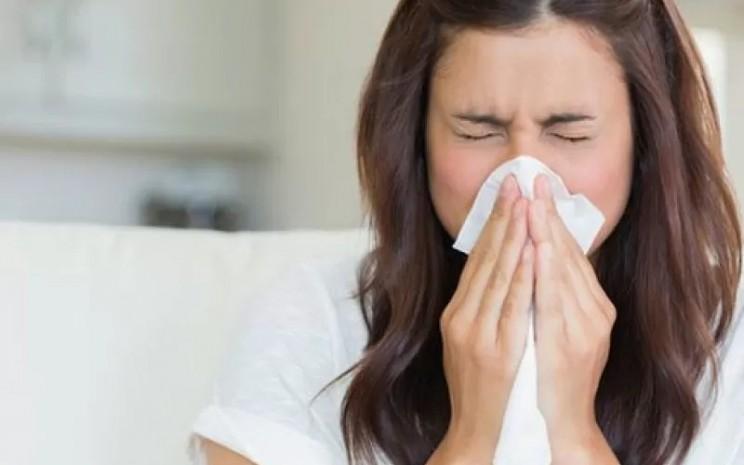 Gejala Flu. Sistem kekebalan berpotensi merespons berbagai bagian virus, protein lonjakanlah yang paling mendapat perhatian.  - AntaraNews