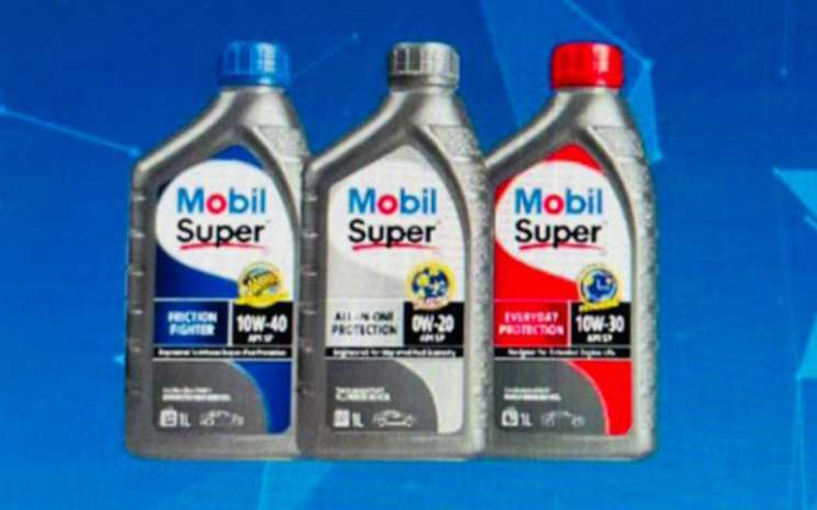 Pelumas Mobil Super All in One Protection, Friction Fighter dan Everyday Protection. ExxonMobil