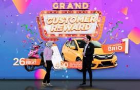 Program Customer Reward Pos Indonesia Berakhir, Pelanggan Setia Boyong Honda Brio