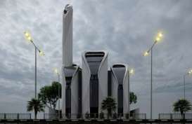 Pembangunan Masjid Rancangan Ridwan Kamil di Gaza Dimulai