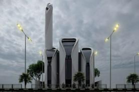 Pembangunan Masjid Rancangan Ridwan Kamil di Gaza…