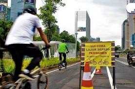 DKI Bangun Tugu Sepeda di Jalan Sudirman-Thamrin,…