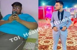 Lelah Di-Bully, Pria Ini Sukses Turunkan Berat Badan 80 Kilogram
