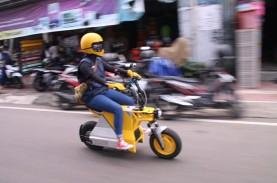 Intip Sepeda Motor Listrik Lokal, Bisa Tempuh Jarak…