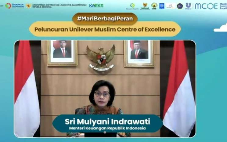 Sri Mulyani dalam peluncuran Muslim Centre of Excellence