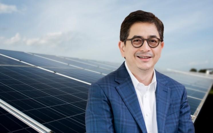 Presiden Direktur PT Indika Energy Tbk. Arsjad Rasjid. - Istimewa