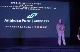 Angkasa Pura I Sabet Penghargaan Services and Operational Excellence in the Time of COVID-19 Pandemic dalam Anugerah BUMN 2021