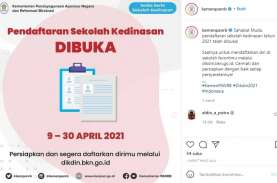 Pendaftaran Sekolah Kedinasan 2021 Dibuka, Login dikdin.bkn.go.id