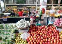 Suasana di salah satu super market di Jakarta, Rabu (9/9/2020). Bisnis/Abdullah Azzam