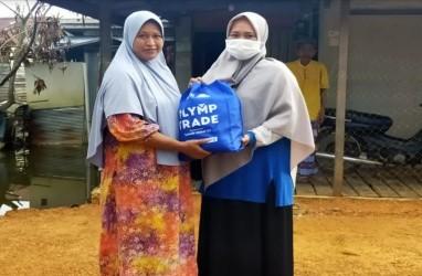 Olymp Trade Bantu Korban Banjir di Kalsel