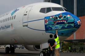 Mudik Dilarang, Garuda Indonesia Tetap Beroperasi