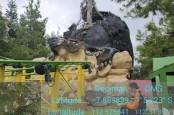 Patung di Batu Secret Zoo Rusak Akibat Gempa, Tidak Ada Korban Jiwa