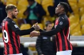 Hasil Lengkap Liga Italia : Ibrahimovic Kartu Merah,…