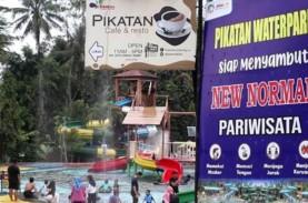 Sambut Ramadan, Tradisi Padusan di Pikatan Water Park…