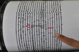 Gempa Magnitudo di Atas 5 Goyang Lampung Pagi Ini