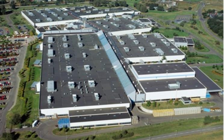 Kawasan Pabrik Volvo Cars di Skovde, Swedia.  - Volvo Cars