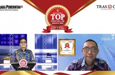 Raih Penghargaan Indonesia TOP Digital PR Award 2021 Dorong Bank Kalsel Untuk Terus Tingkatkan Citra Perusahaan