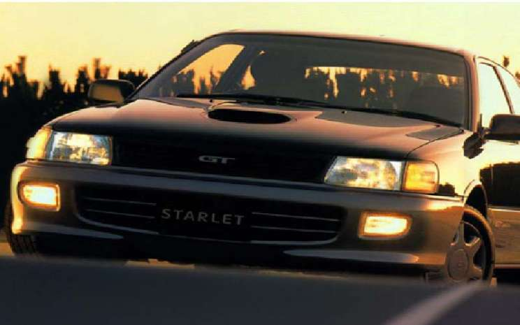 Toyota Starlet GT.  - Auto2000