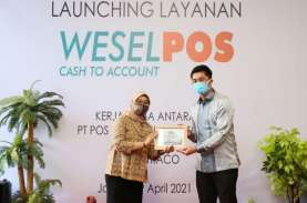 Pos Indonesia Luncurkan Weselpos Cash to Account Instamoney