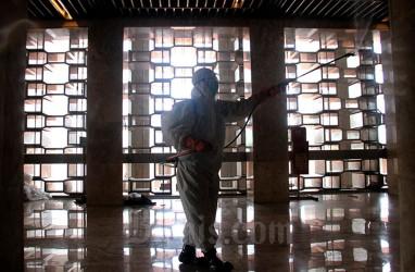 Salat Tarawih Pertama, Masjid Istiqlal Dibuka untuk Umum