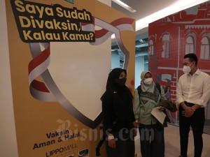Vaksinasi Untuk Tenaga Pendidik dan Lansia di Lippo Mall Kemang